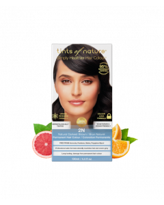 Tints of Nature 2N Natural Darkest Brown Permanent Hair Dye