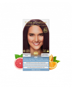 Tints of Nature 4M Medium Mahogany Brown Permanent Hair Dye
